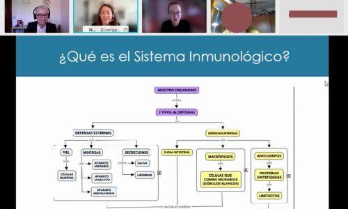 Taller sistema inmunologico Bienestar y Salud Laboral